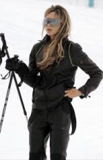 Victoria Beckham`s 100.000 kr. skidragt Victoria Beckham,