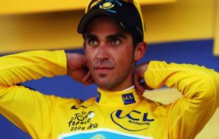 Årets Tour vinder Contador taget for doping ! Alberto Contador,